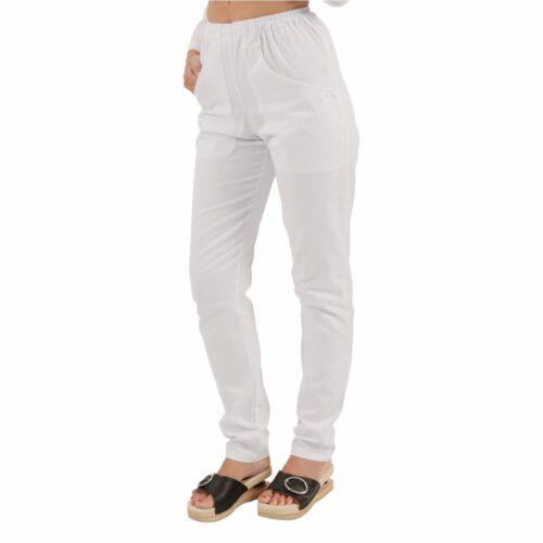 londra-bianco-pantaloni-da-lavoro-cotone-parrucchiera-estetista