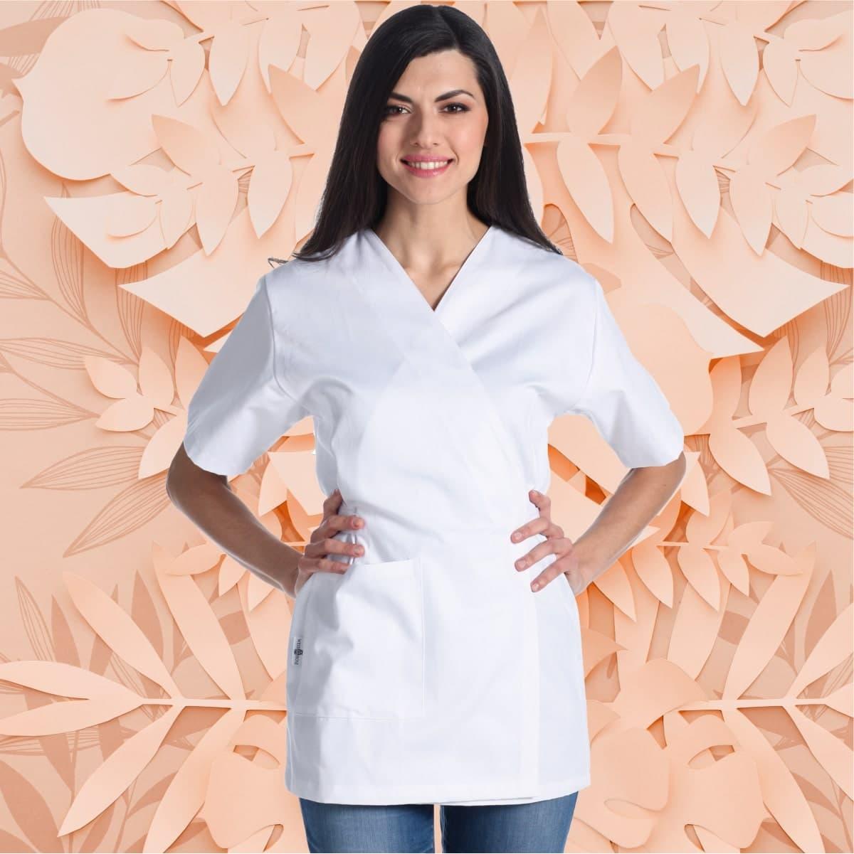 aiko-bianco-kimono-divisa-scuola-estetica-estetista-100%-cotone
