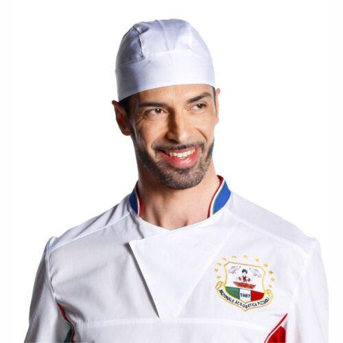 Bandana Bianca Cucina pizzaiolo
