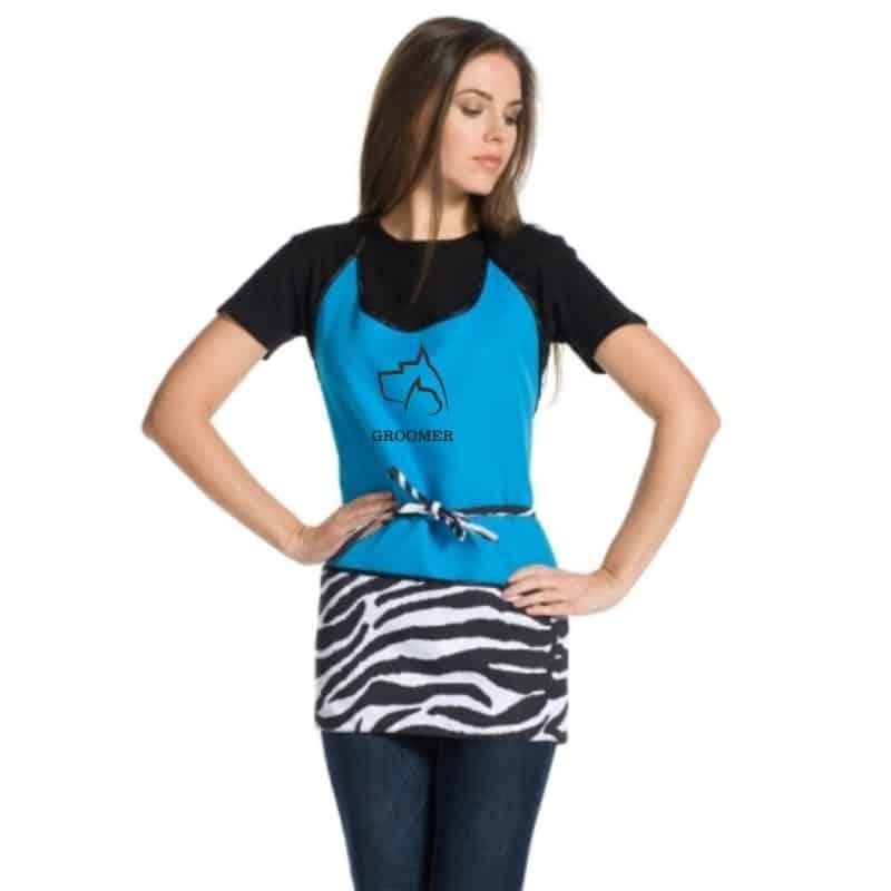 M Pet estetista abiti da lavoro grembiule grembiule in nylon anti-statica Cat Dog Grooming grembiuli Pet Haircutting vestiti camice con tasche per donne uomini cucina Pet Grooming Shop