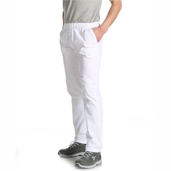 pantaloni bianchi pastificio cotone