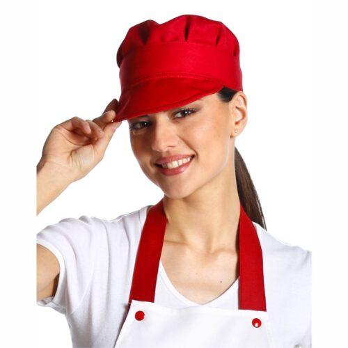 berretto alimentari rosso