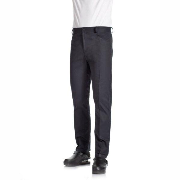 denver-pantaloni-da-lavoro-cotone-nero-cucina