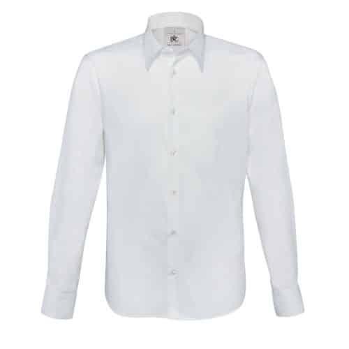 camicia barman bianca