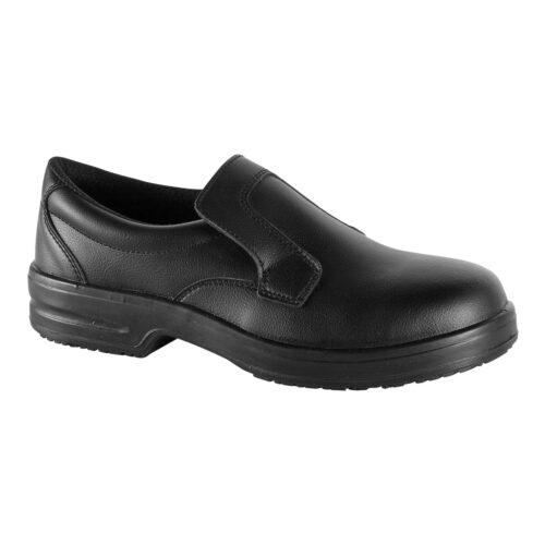 mocassino-nero-scarpe-cucina