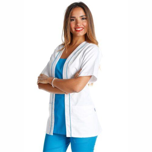perla-turchese-abbigliamento-da-lavoro-assistente-alla-poltrona-offerta