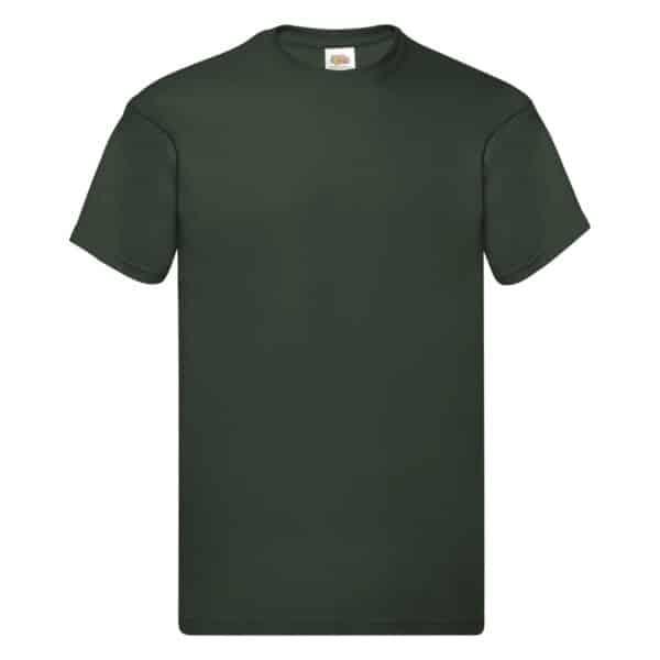 t-shirt proloco verde bottiglia