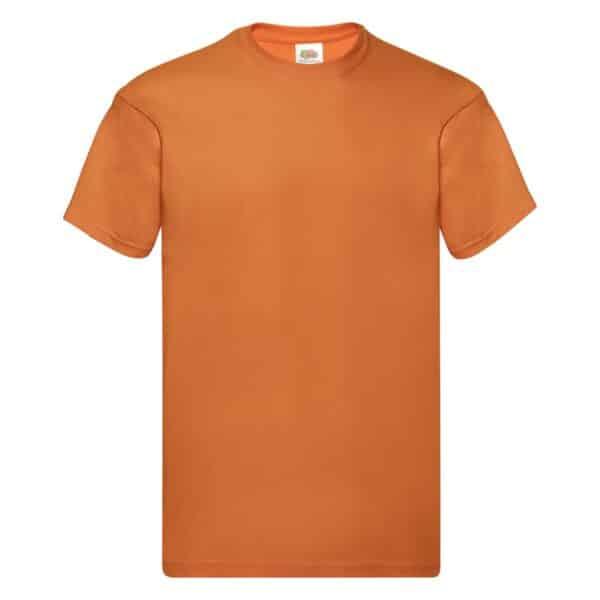 t-shirt proloco arancione
