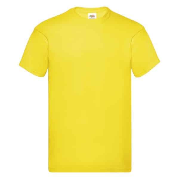 t-shirt proloco giallo