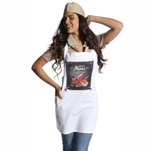 shabby-carne-grembiule-divise-macelleria-vintage-offerta