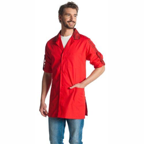 william-rosso-camice-macellaio-offerta