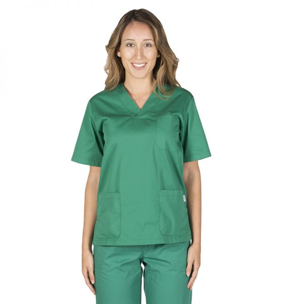 leonardo-casacca-verde-chirurgico-medicale-unisex