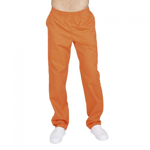 seoul-pantaloni-studio-medico-infermiere-oss-arancione-unisex