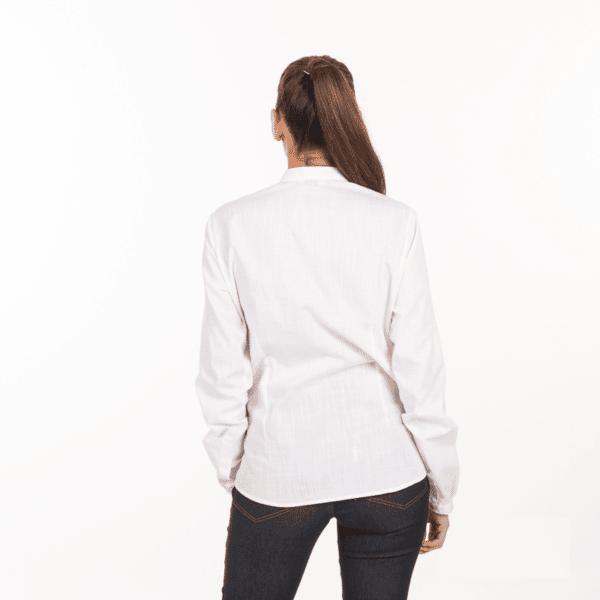camicia-bianca-cameriera-maniche-lunghe-vendita-online-retro