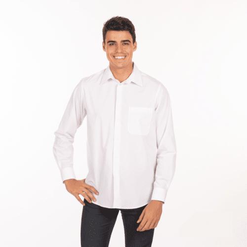 camicia-bianca-ristorante-maniche-lunghe-vendita-online