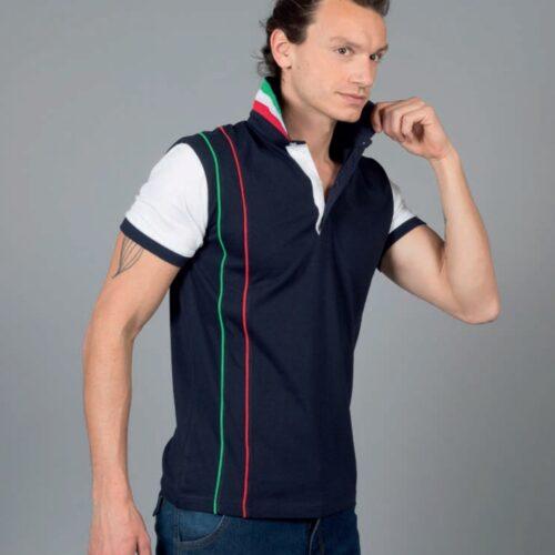 polo tricolore personalizzate-strasburgo-polo-da-lavoro-meccanico-min