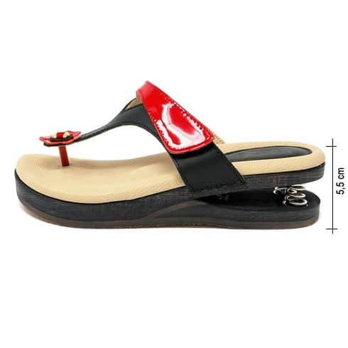 zoccolo-infradito-calzatura-baldo-molla-14-109-rossonero
