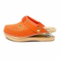 Zoccoli sanitari Baldo Arancione-zoccolo-scarpa-calzatura-baldo-molla-513