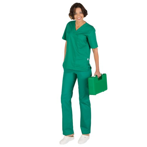 Completo divise infermieri verde