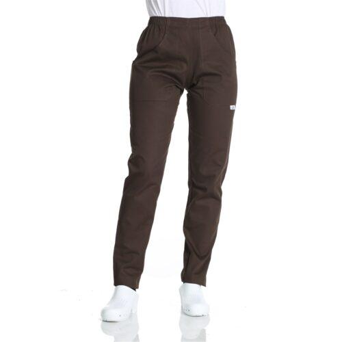 pantaloni da lavoro cioccolato