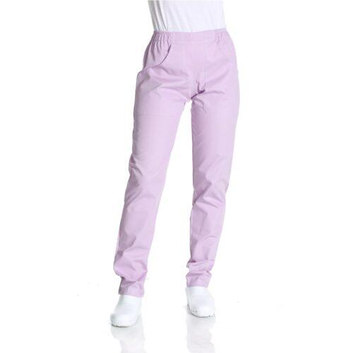 Pantaloni lilla da lavoro