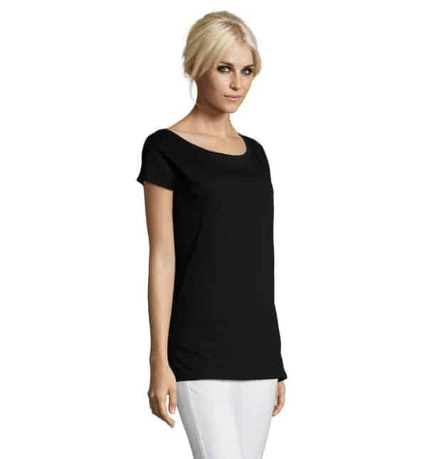 marylin-t-shirt-lunga-donna-nera-parrucchiera-part