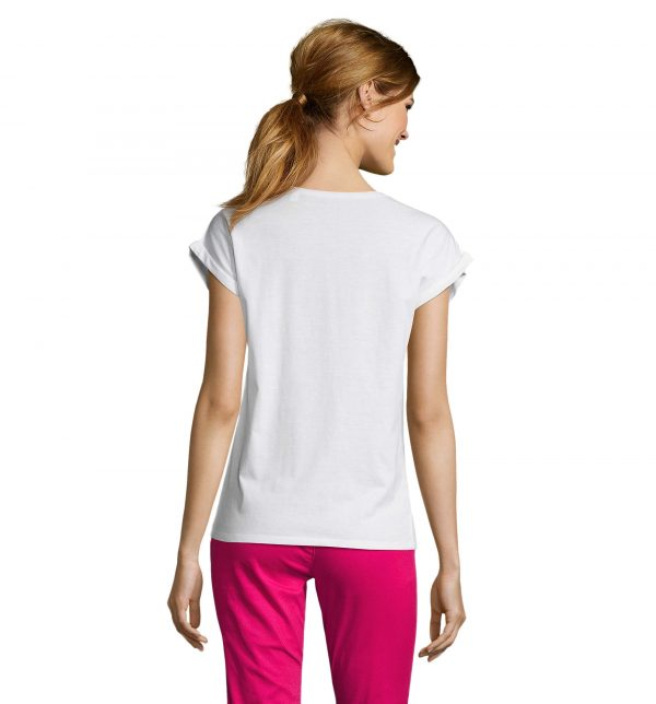 melba-t-shirt-donna-bianca-estetista-nails-retro