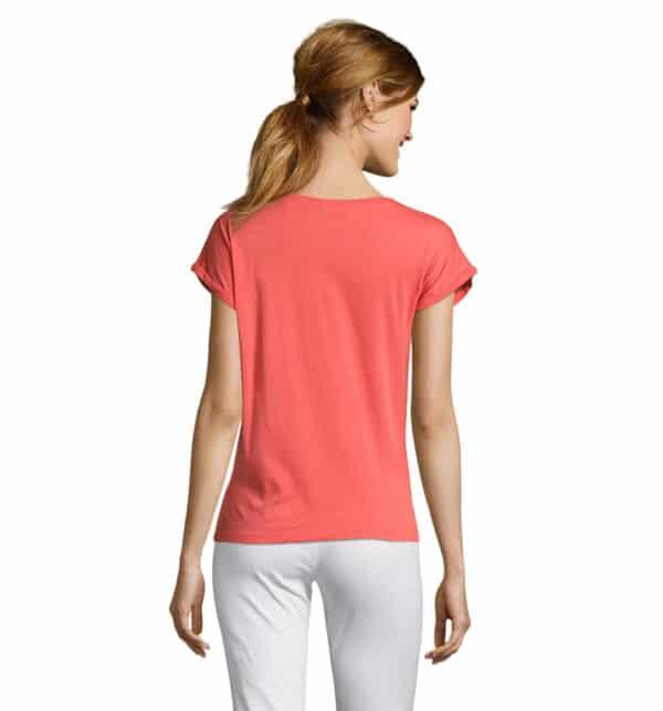 melba-t-shirt-donna-corallo-estetista-nails-retro