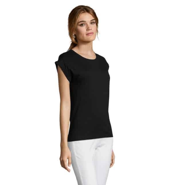 melba-t-shirt-donna-nera-estetista-nails-part