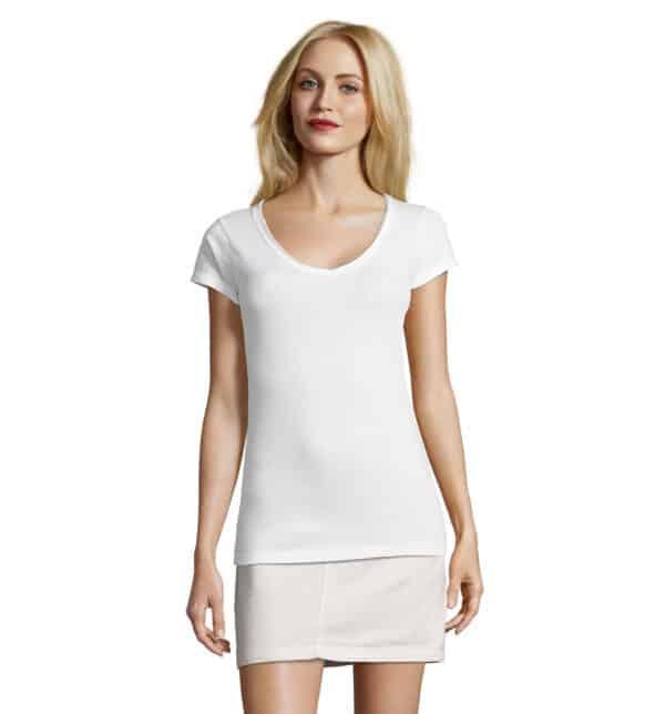 mild-t-shirt-lunga-donna-bianca-parrucchiera