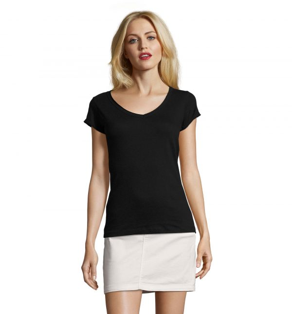 mild-t-shirt-lunga-donna-nera-parrucchiera