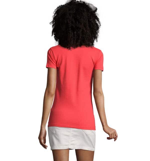 phoenix-polo-donna-corallo-elasticizzata-da-lavoro-manica-corta-retro