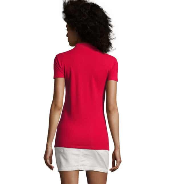 phoenix-polo-donna-rossa-elasticizzata-da-lavoro-manica-corta-retro