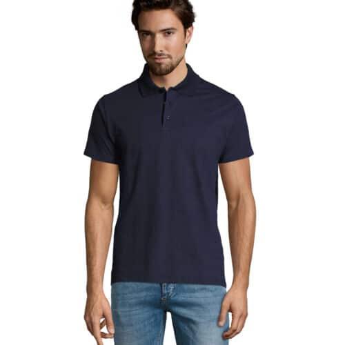 prescott-polo-uomo-blu-navy-da-lavoro-jersey-estiva