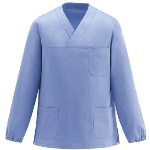 412011-casacca-infermiere-manica-lunga-azzurro