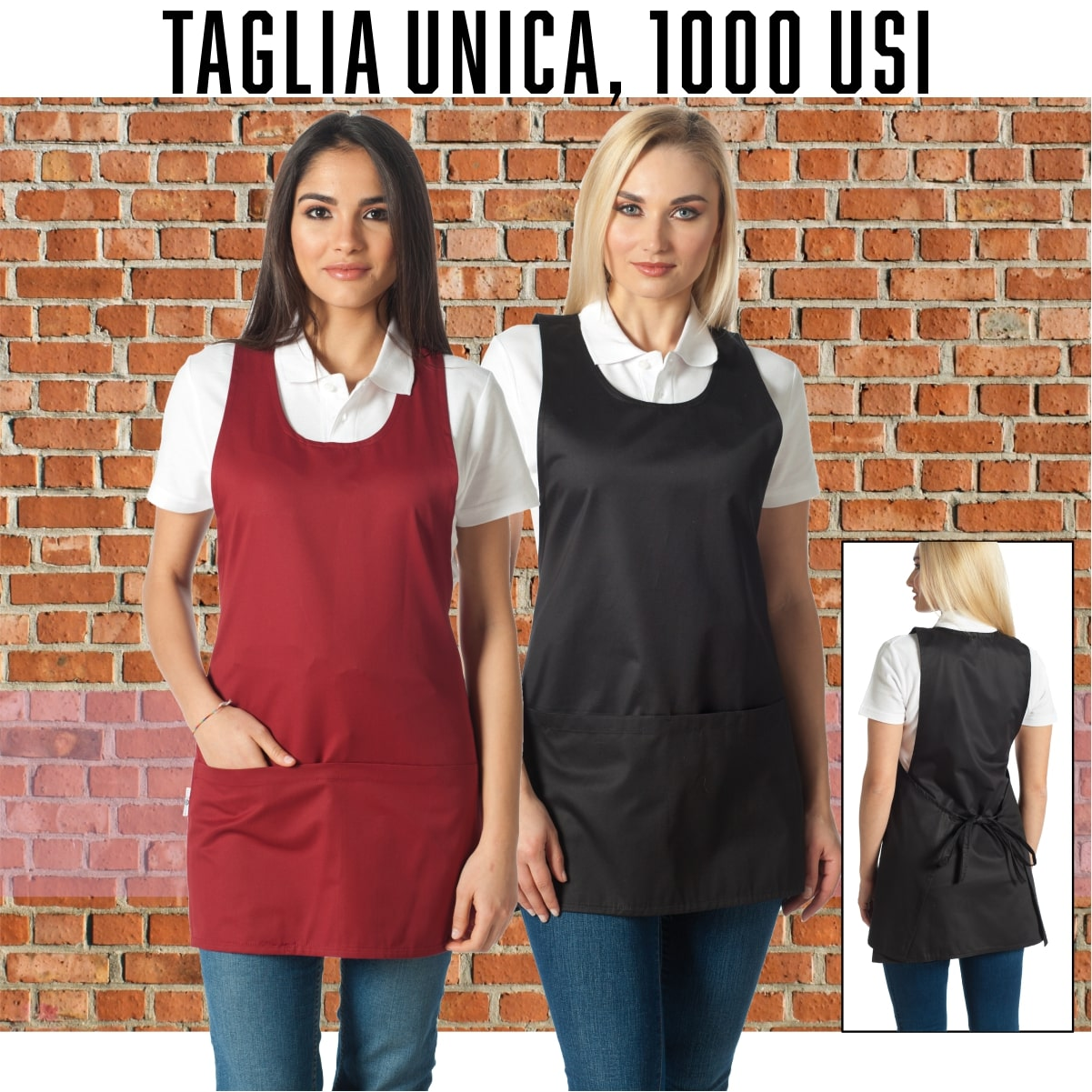 DALIA SCOTTISH 35/% Cotone 65/% Poliestere MADE IN ITALY Siry Work Casacca Copriabito Donna Art