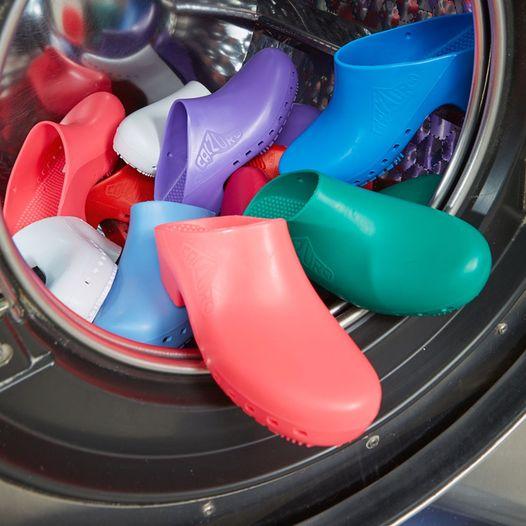 Calzuro senza fori rosa-zoccoli-sanitari-calzuro-senza-fori