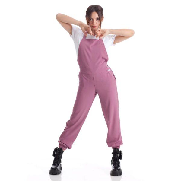 abbigliamento da lavoro on line-alessia-rosa-salopette-estetista-parrucchiera-nails