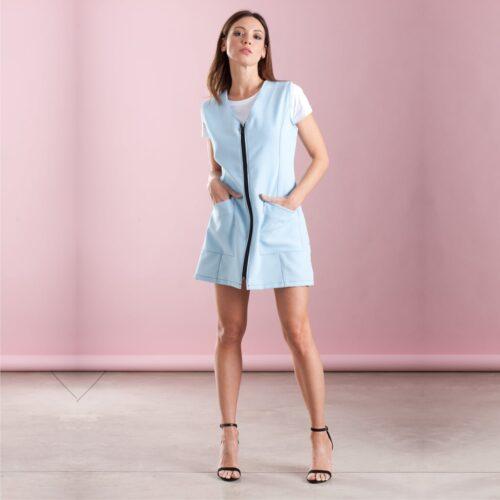 abiti da lavoro roma-beatrice-celeste-camice-estetista