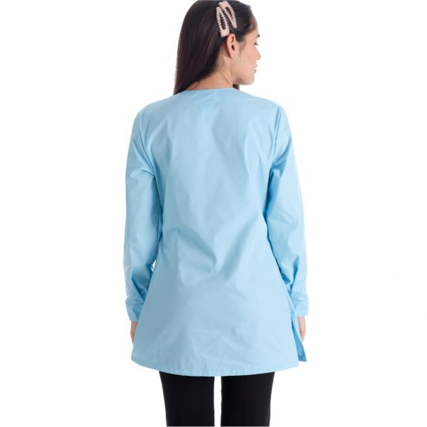 cinzia-azzurro-camice-gelateria-retro