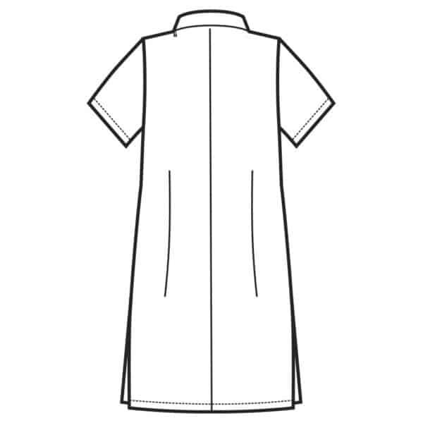 Casacca Antibe bianca cotone