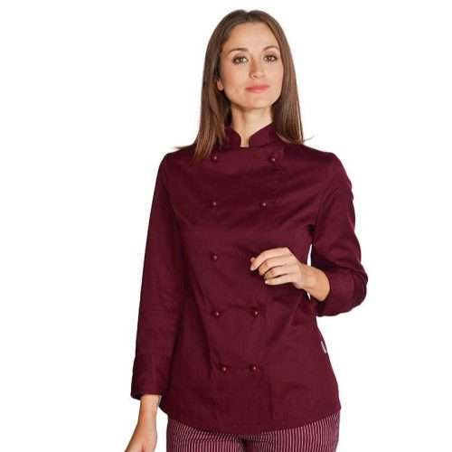 giacca-lady-burgundy-bordeaux-isacco-057503
