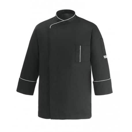 giacca-cuoco-cesare-nero-microfibra-ego-chef