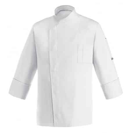 Cheap bianca giacca cuoco Egochef