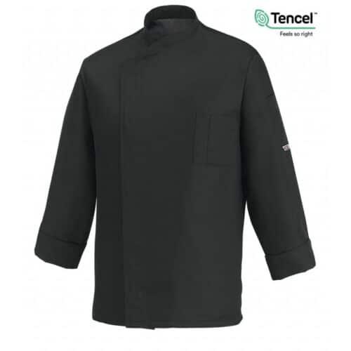 giacca-cuoco-ottavio-nero-tencel-ego-chef