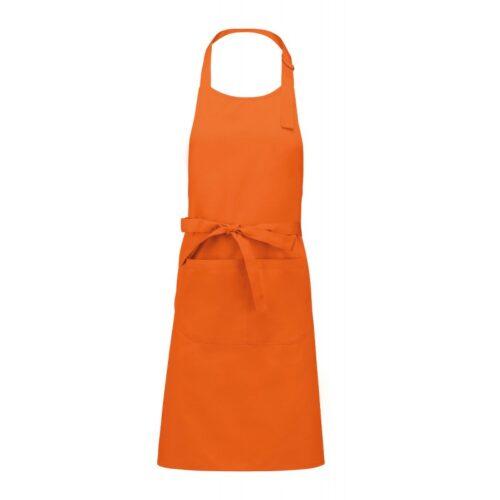 grembiule-pettorina-cotone-arancio