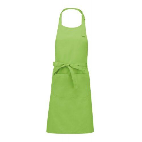 grembiule-pettorina-cotone-verde-chiaro