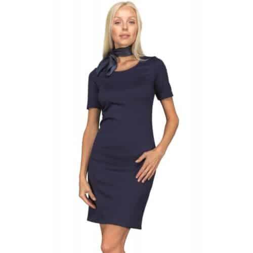 Abitino donna Sidney jersey blu Isacco