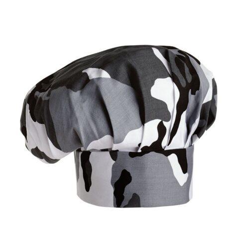 cappello-cuoco-cotone-ego-camouflage-grigio