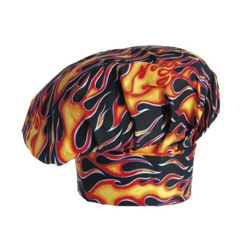 cappello-cuoco-flames